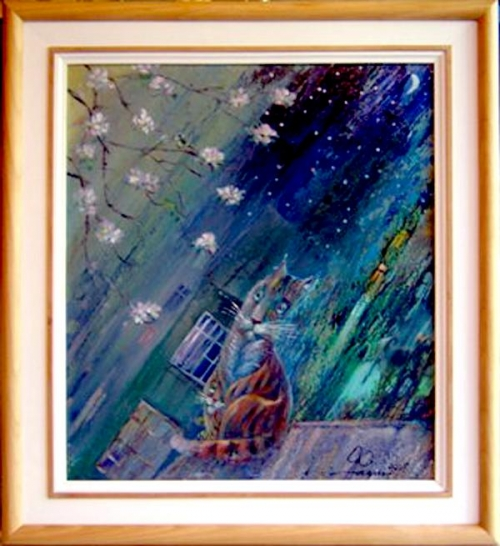 Картина Александра Фадина, г. Сочи.